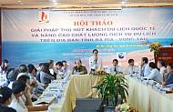 Đề xuất biện pháp tổng thế phát triển du lịch Bà Rịa Vũng Tàu