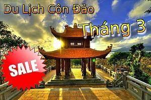 KHởi hành Tháng 3 từ thành phố Hồ Chí Minh