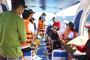 Tour du lịch Côn Đảo từ Vũng Tàu - tàu cao tốc 5 sao