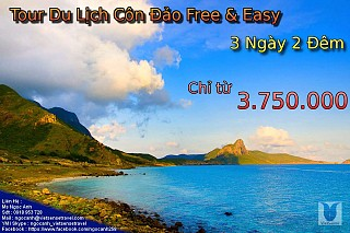 Chương trình Free & Easy 3 Ngày 2 Đêm