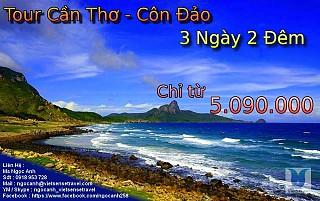 Tour Du Lịch Côn Đảo từ Cần Thơ 3 Ngày 2 Đêm