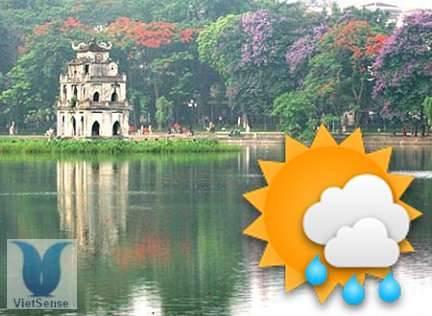 Dự báo thời tiết Hà Nội Ngày 27 Tháng 1