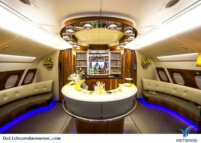 Tham quan nội thất của máy bay sang nhất thế giới