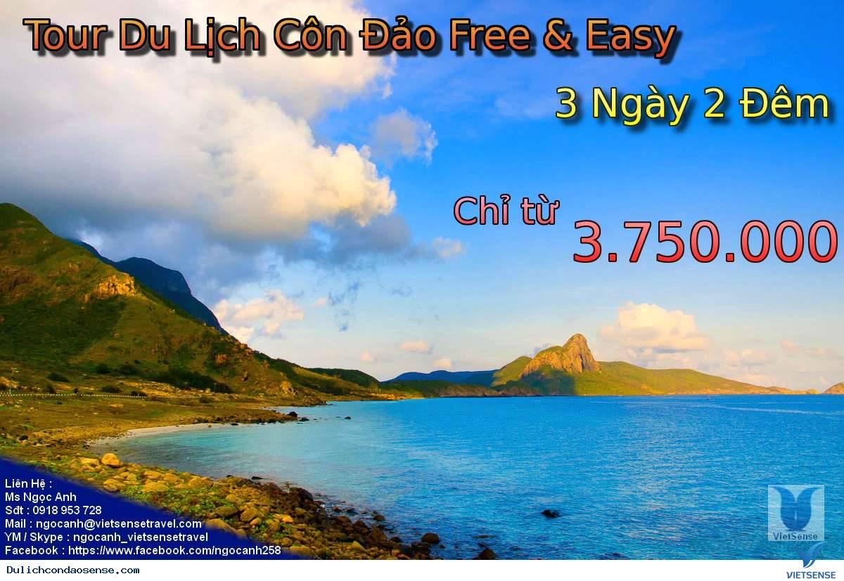 Tour Du Lịch Côn Đảo Free and Easy 3 Ngày 2 Đêm